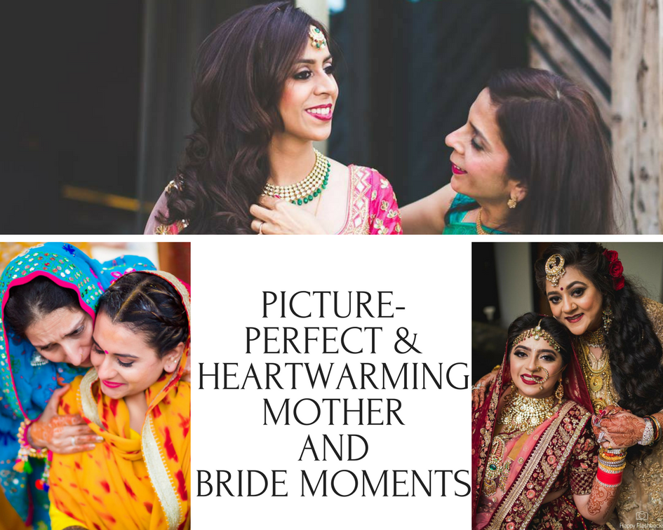 Picture-Perfect & Heartwarming Mother and Bride Moments