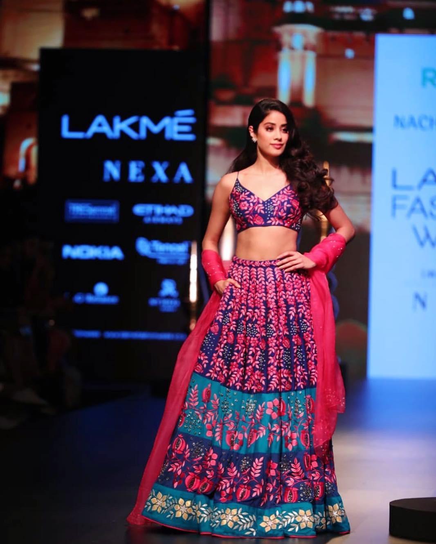 Jhanvi Kapoor at Lakme Fashion Week