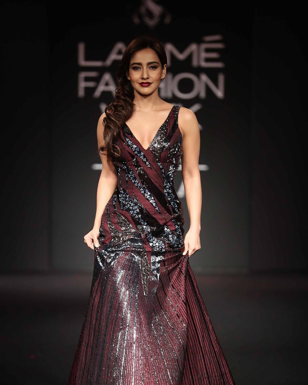 Neha Sharma at LFW2018
