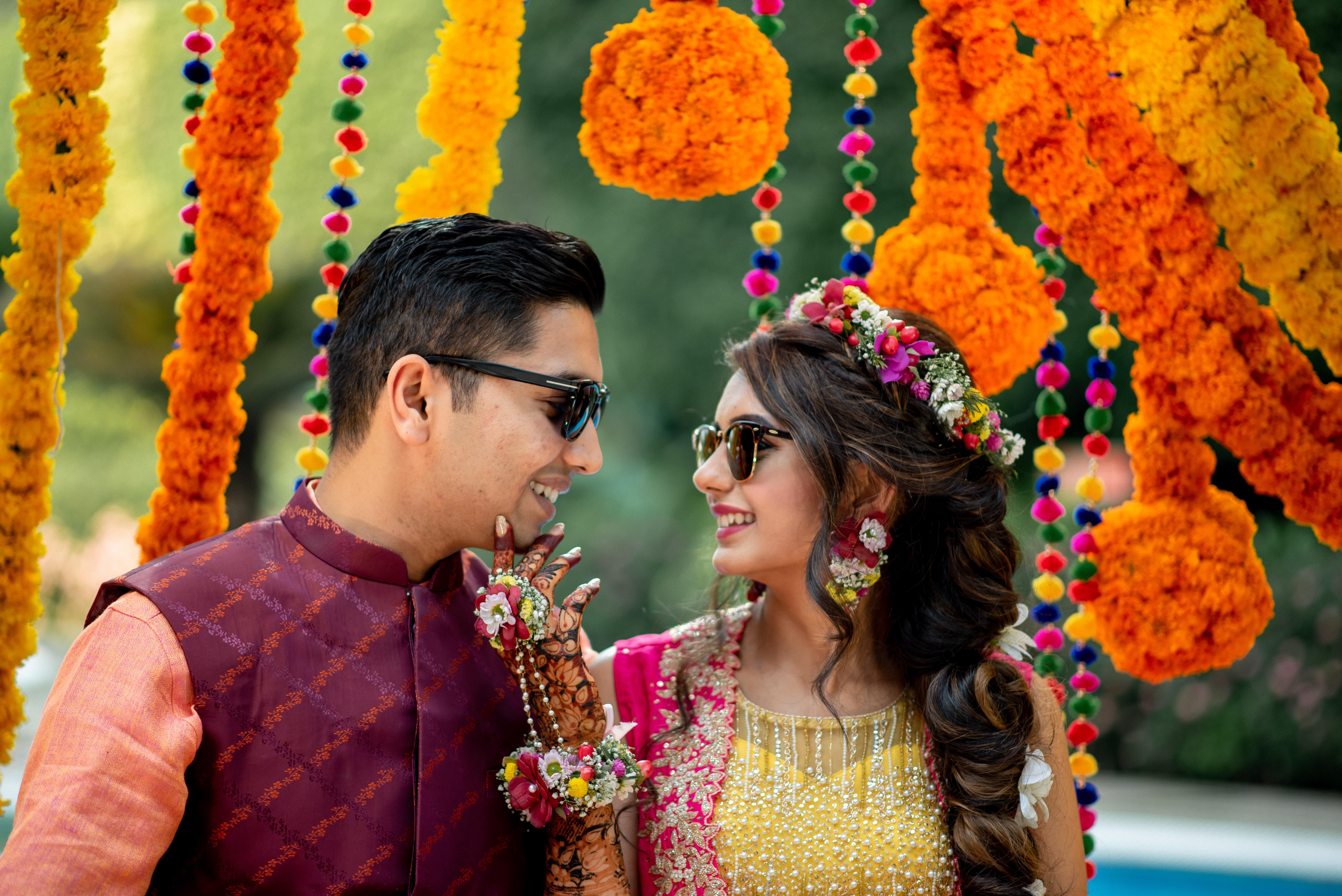 Nidhi & Rachit Colorful Mehendi Ceremony