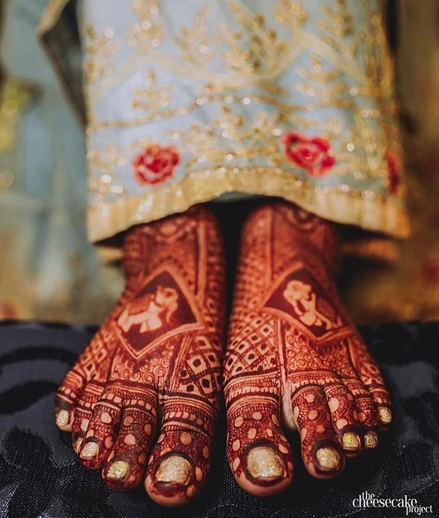 30 Inspiration Worthy Bridal Foot Mehndi Designs For 2019 Brides Wish N Wed