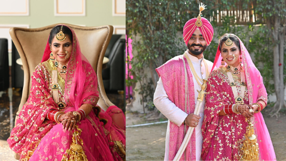 Sikh Bride Wore Her Mother's Wedding Dupatta