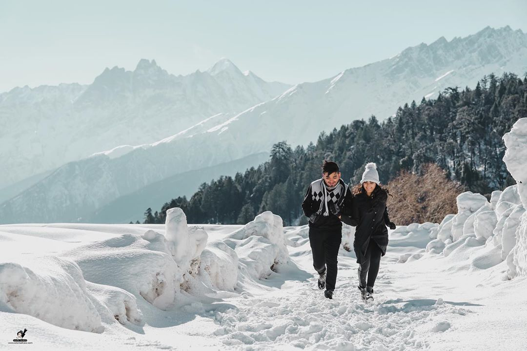Pre-wedding Shoot in Auli