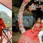 Beautiful Dehradun wedding with a chirpy bride in red lehenga